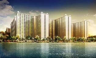 Apartemen Green Palace | Pemandangan Danau